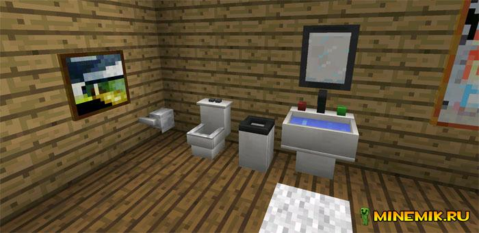 Мод More Furniture для MCPE 0.13