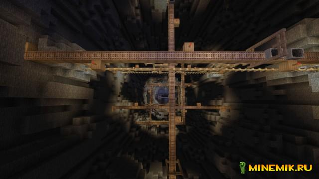 Карта The Dropper для Minecraft PC