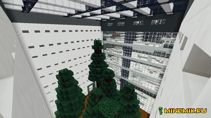 Карта Subterranean Facility для minecraft PE