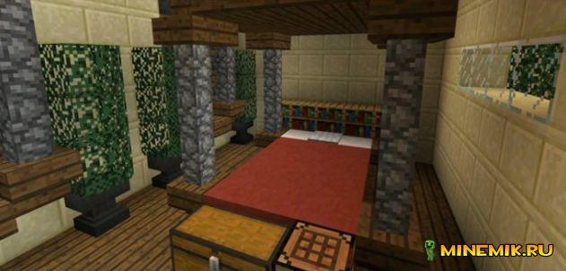 Отель для майнкрафт