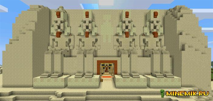 Мод Tomb Crafter 2: Egypt для minecraft PE