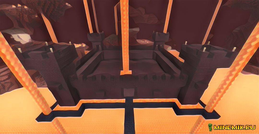 Адская крепость в MCPE 1.0