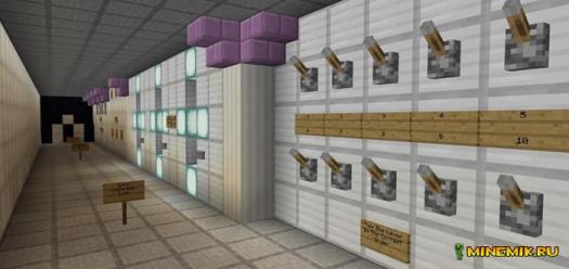 Карта самая безопасная дверь для Minecraft PE