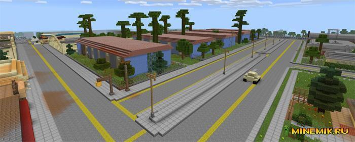 Карта GTA San-Andreas для Minecraft PE