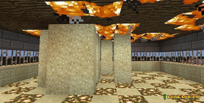 """Карта """"Горячие ноги"""" для Minecraft PE"""