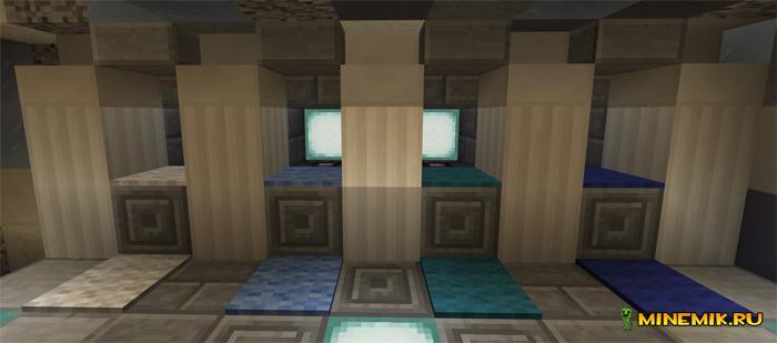 """Карта """"Снежный ад"""" для Minecraft PE"""