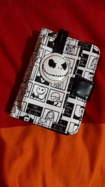 The Nightmare Before Christmas wallet. I was the weird girl, in case that wasn't established already.