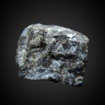 Plagioclase var. labradorite (Ca,Na)[Al(Al,Si)Si2O8] in gabbro/anorthosite; Wolibórz (Volpersdorf), Kłodzko District, Lower Silesia (Dolnośląskie), Poland; 46 x 36 x 34 mm