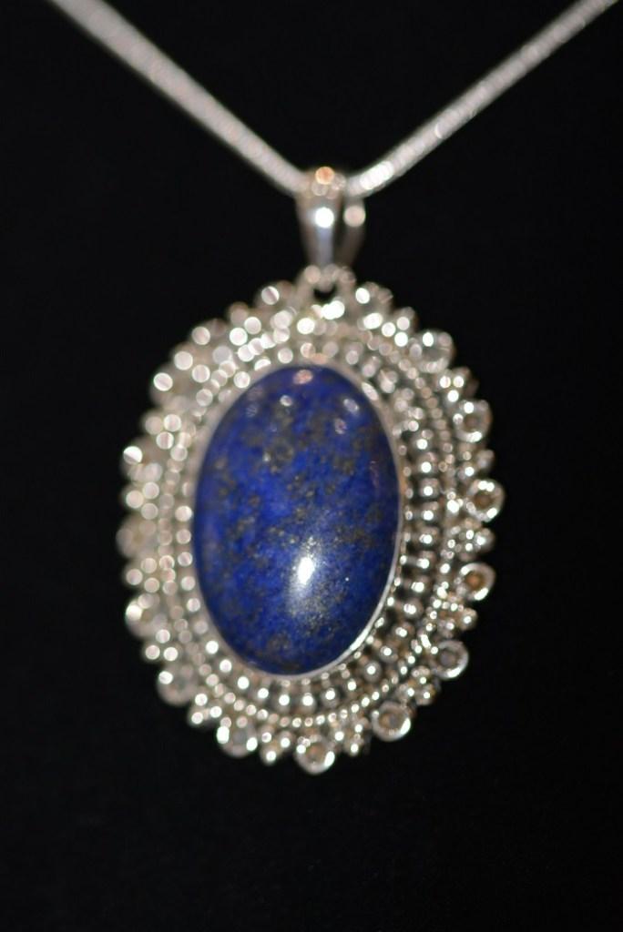Pendentif Lapis-Lazuli Argent 925