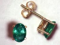 Alexandrite Earrings: Natural Alexandrite Earrings