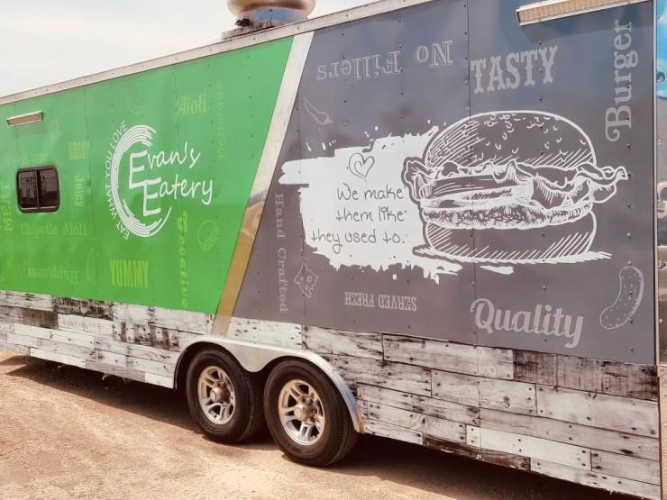 Evans New Truck