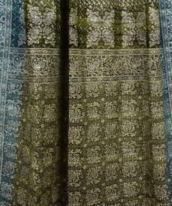 Green-Teal_IndianSari-Curtain-Closeup