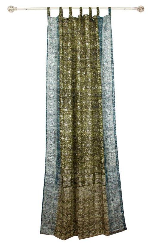 Green-Teal_IndianSari-Curtain-FullLength