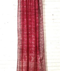 Red_IndianSari-Curtain-FullLength