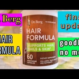 Dr. Berg hair formula - the last update