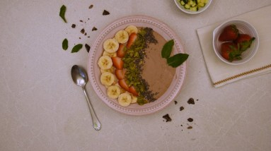 How to Use Plant Protein+ Powder   Vegan Smoothie Bowl   Clinically Studied Enzymes Boost Absorption