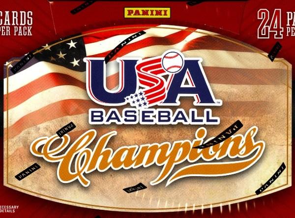 2013 Panini USA Baseball Champions Box