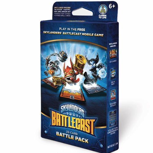 SKYLANDERS BATTLECAST BATTLE PACK B