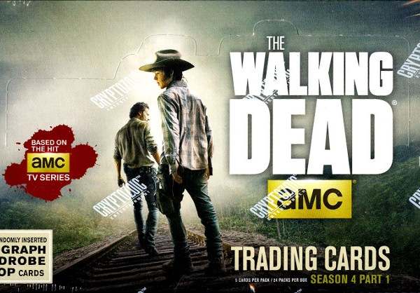 Cryptozoic The Walking Dead Season 4 Part 1 Hobby Box