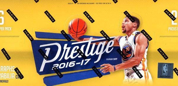 2016-17 Panini Prestige Basketball Hobby Box