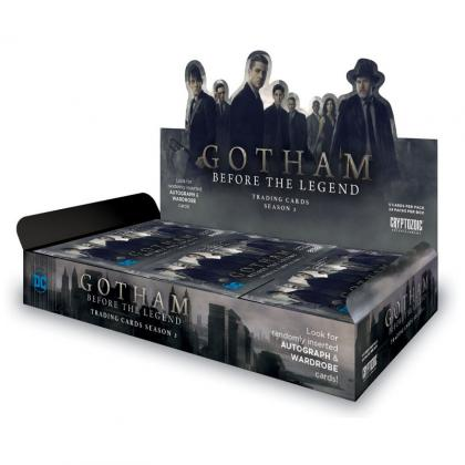 Cryptozoic Gotham Season 2 Trading Cards Hobby Box