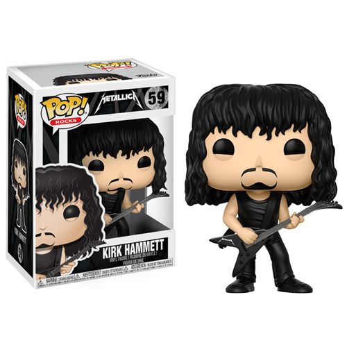 Metallica Funko POP! Rocks Kirk Hammett Vinyl Figure #59