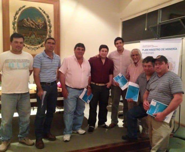 Participaron más de 30 trabajadores de la minería de diversos rubros de La Toma, Tilisarao y La Florida.