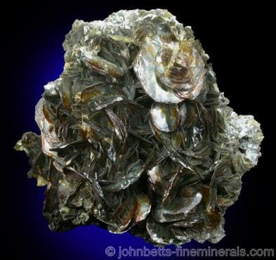 cristales de clorita platy