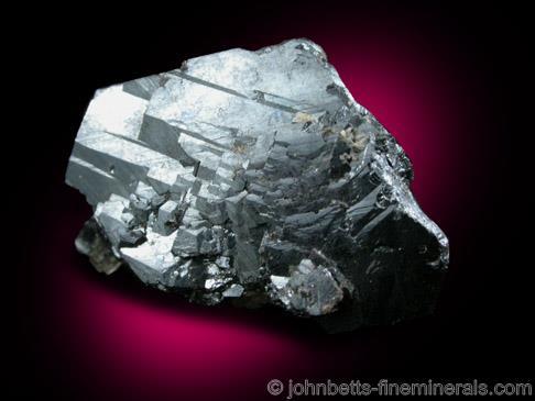Cristal de hematita aplanado