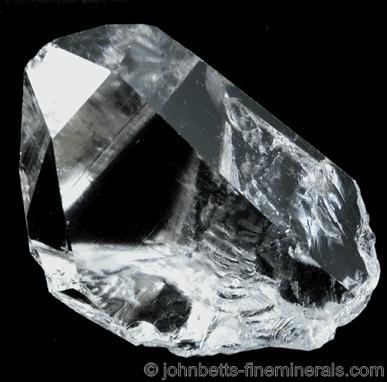 Cristal de roca de cuarzo