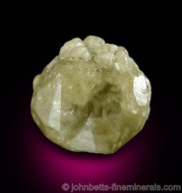 Granate Grossular Amarillo-Verde