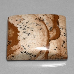 Jaspe tostado y crema