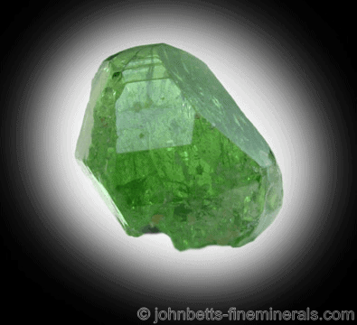 Cristal Tsavorita Transparente