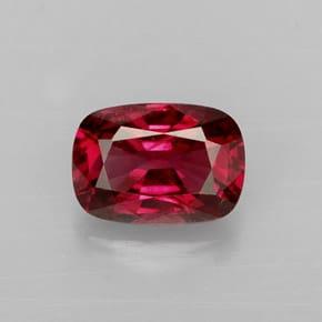 Espinela de color rojo rosado_
