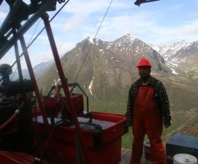 At the Drill Rig