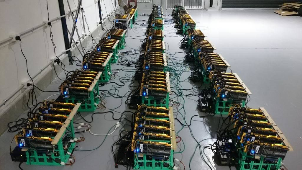 cryptocurrency mining machine