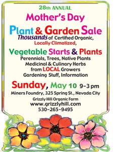 Mother's Day Plant Sale