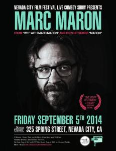 NCFF Marc Maron poster