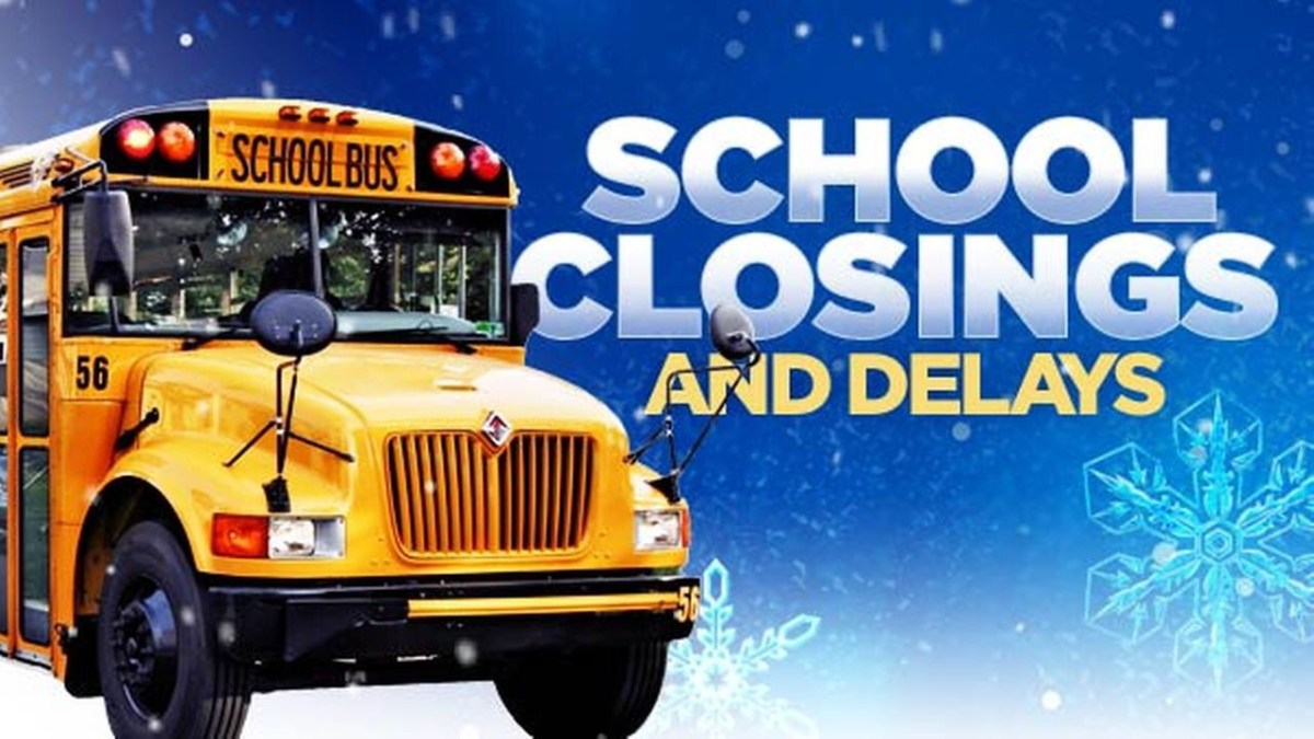 Local School Closings And Delays For January 13th 2016