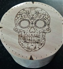 My first pyrography attempt, and the piece that taught me sanding is essential!