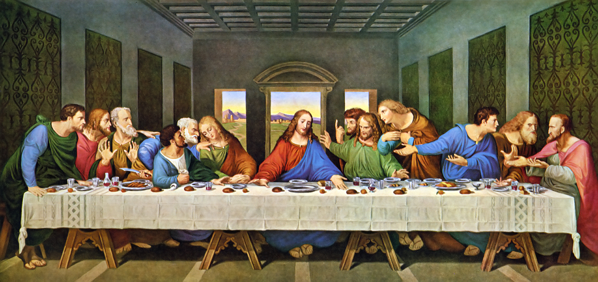 The Last Supper Restored Leonardo Da Vinic  Minerva