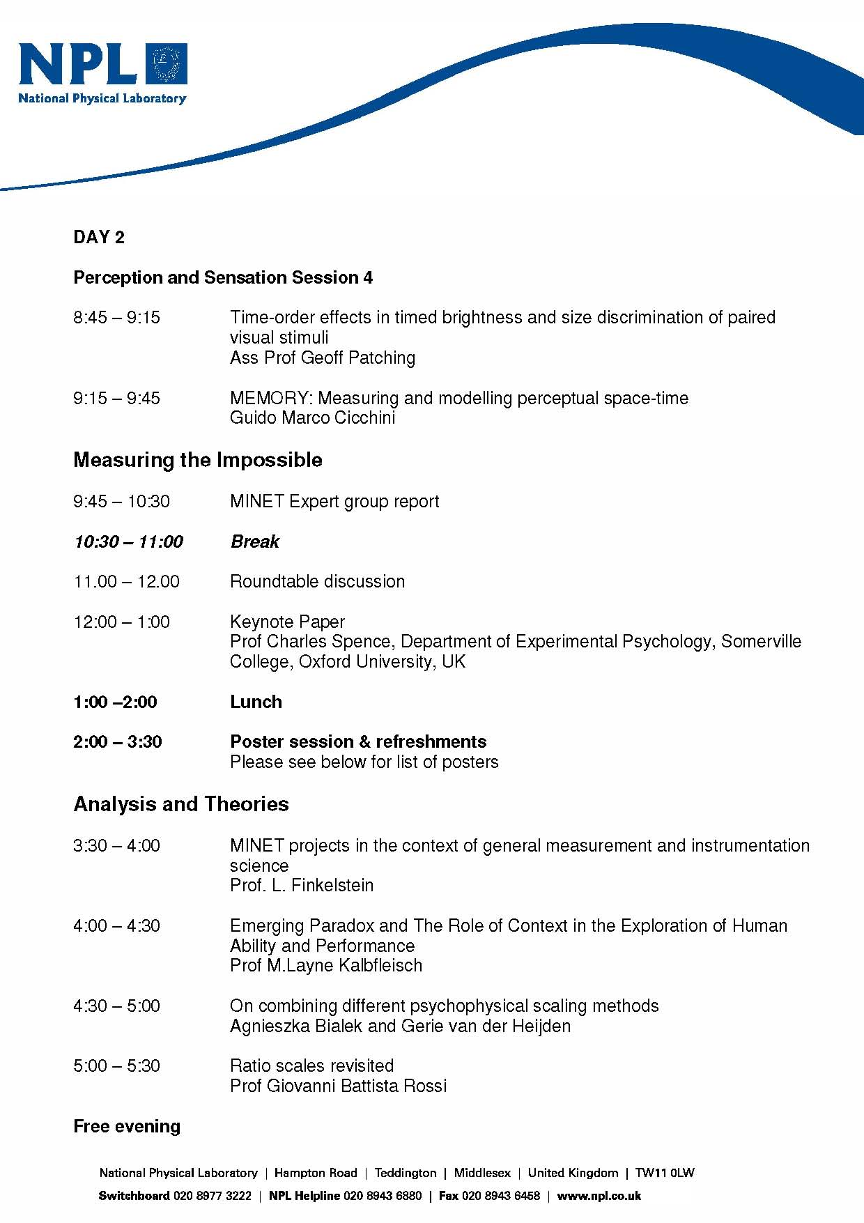 Detailed Programme for conference v5a page 2