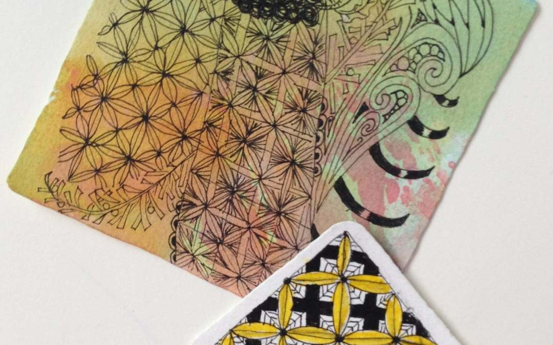 Getting to the Crux of Zentangle Patterns