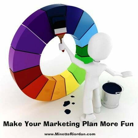 your colorful marketing plan
