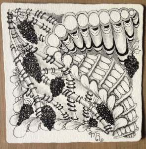 Zentangle tangle patterns
