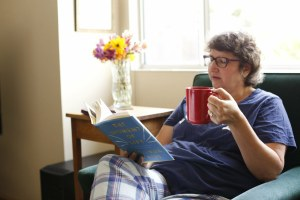 minette riordan, coffee mug, morning reading routine, creative play, exploring circles