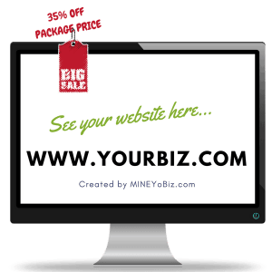 Image for Mine Your Business Virtual Solutions Website Package