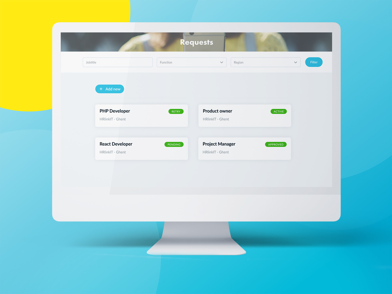klant app desktop