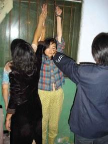Girl Handcuffed Arrested