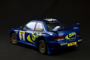 Subaru Impreza WRC Safari Rally 1998